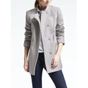 Cotton Snap Coat Women