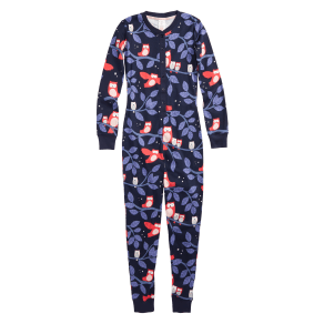 Girl's Mini Boden Fitted One-Piece Pajamas, Size 4y - Ivory