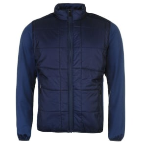 Island Green Quilted Jacket Mens