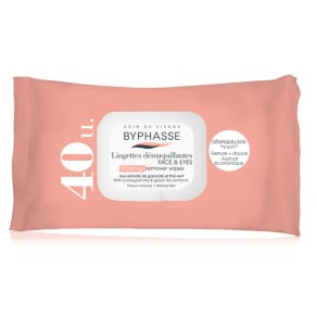 Byphasse Make-Up Remover Wipes Pomegranate Extract & Green Tea Mature