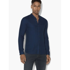 John Varvatos Double-Face Stripe Shirt