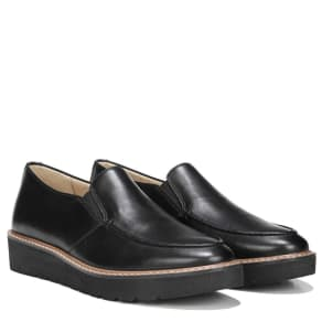 Naturalizer Aibileen Shoes (Black Leather) - 6.0 M