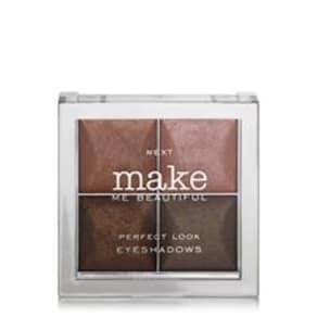 Make Me Beautiful Dark Brown Eye Shadow Quad