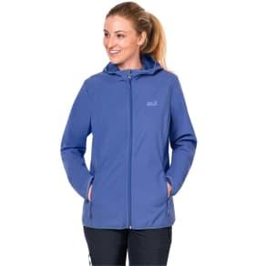 Jack Wolfskin Softshell Jacket Women Northern Point Women L Blue
