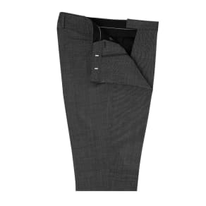 """""""Lewis Grey Pin Dot Slim Fit Suit Trousers"""""""