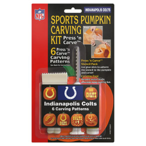 Topperscot Indianapolis Colts Pumpkin Carving Kit