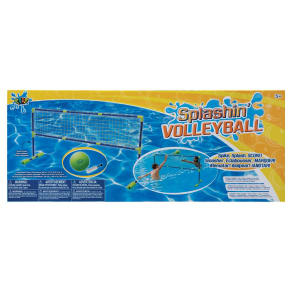 Poof Pool Toys Splashin' Volley Ball, Multi-Colored