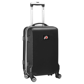 Ncaa Utah Utes Black Carry-On Hardcase Spinner