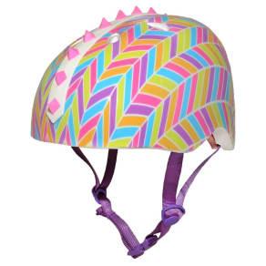 Krash! 3D Chevron Youth Helmet - Pink