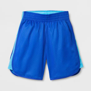 Girls' Basketball Shorts - C9 Champion Steel Blue Xs