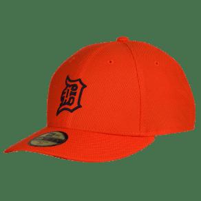 Detroit Tigers New Era Mlb 59fifty Diamond Era Low Profile Cap - Mens - Orange