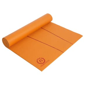 Lifeline Eco-Smart Yoga Mat (6mm) - Orange / Red Rock, Orange/Red