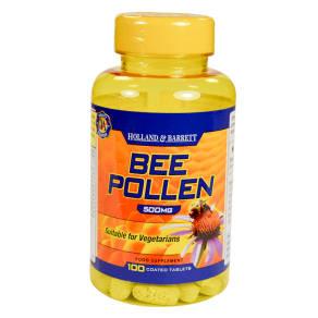 Holland & Barrett Bee Pollen Tablets 500mg - 100tablets