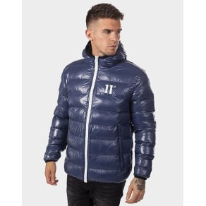 11 Degrees Gloss Bubble Jacket - Navy - Mens