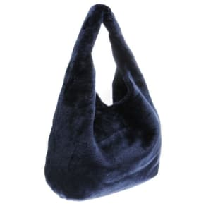 Usc Slouch Fur Bag