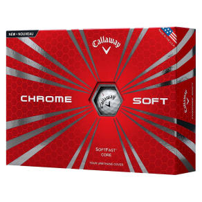 Callaway Chrome Soft Golf Balls 12pk, White