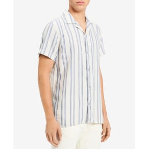 Calvin Klein Jeans Men's Loose Twill Striped Shirt