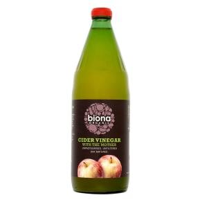 Biona Organic Vinegar - Cider Vinegar (With Mother) - 750ml