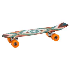 Aluminati 24 Skateboard - Tatonka, Multi-Colored