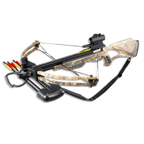 Velocity Archery Lionheart Compound Crossbow Realtree Package, Multi