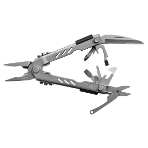 Gerber Multi-Plier 400 - Needlenose, Stainless, Sheath Compact Sport, Silver