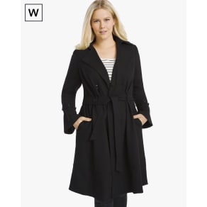 Women's Plus Bell-Cuff Trench Coat by White House Black Market