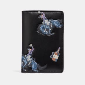 Coach Card Wallet With Rodeo Print