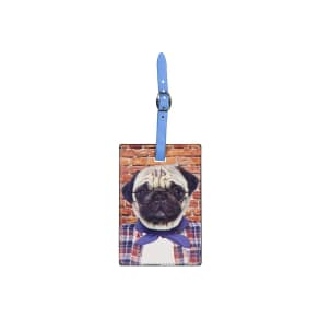 Typo - Boston Luggage Tag - Sharp Pug
