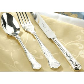 Arthur Price Kings Silver Plated 84 Piece Canteen, Silver