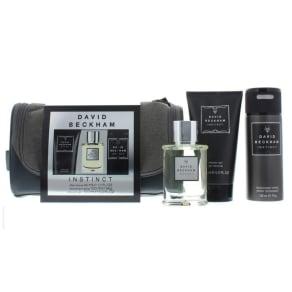 David Beckham Instinct Aftershave 50ml, Deodorant 150ml & Shower Gel 1