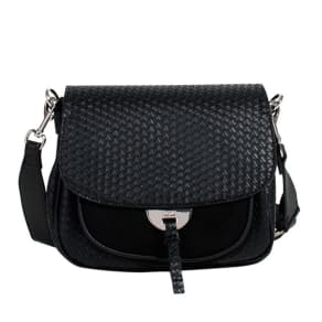Parfois - Black Best Tangled Cross Bag