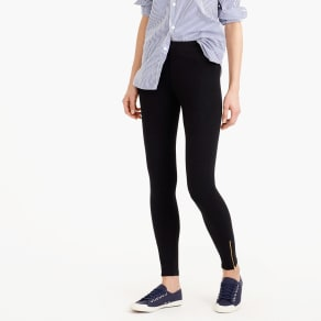 Ankle-Zip Leggings