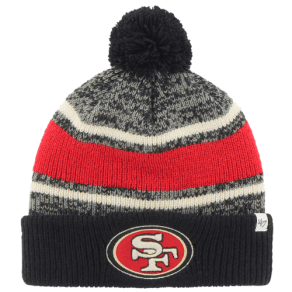San Francisco 49ers 47 Brand Nfl Fairfax Cuff Pom Knit - Mens - Multi
