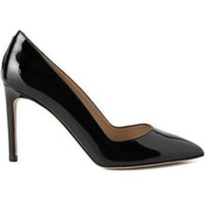 Pointed-Toe Court Shoes in Italian Leather