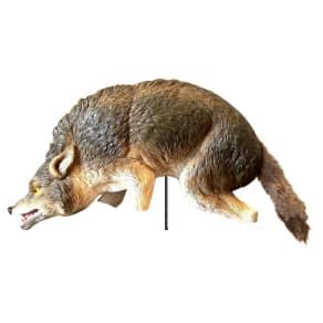 3D Coyote Decoy - Bird-X, Animal Replica