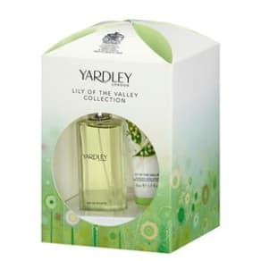 Yardley Lily of the Valley Eau De Toilette Gift Set for Her