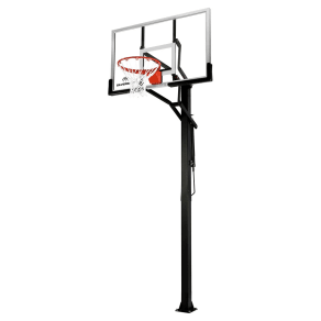 Silverback B5401w In-Ground 54 Glass Basketball Hoop System With Anchor Kit, Multi-Colored