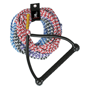Airhead 4-Section Ski Rope With Tractor Handle - 75'