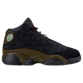 Nike Kids' Preschool Air Jordan Retro 13 Basketball Shoes, Black