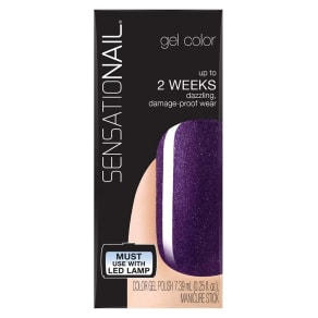 Sensationail Gel Polish Purple Orchid