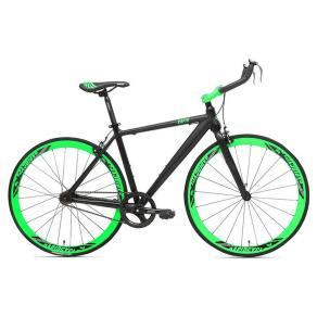 Rapid Cycle Evolve Bullhorn Road Bike 21 - Black