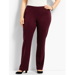 Talbots Women's Womans Exclusive Luxe Knit Trouser Pant