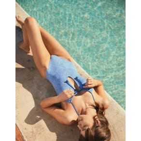 Aerie Eyelet One Piece Swimsuit