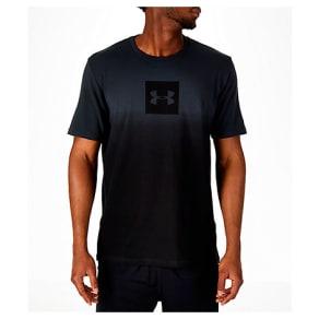 Under Armour Men's Sportstyle Gradient T-Shirt, Grey/Black