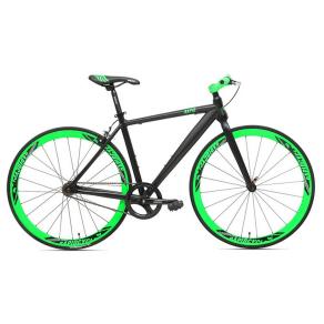Rapid Cycle Evolve Flatbar Road Bike 19 - Black, Black Arrow