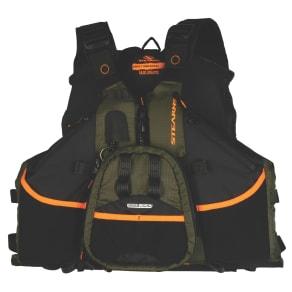 Stearns Universal Hybrid/Fishing Personal Floatation Device, Black