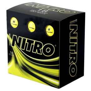 Sports Balls Nitro Golf 18 Ea Yellow