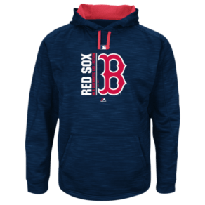 Boston Red Sox Majestic Mlb Player on Field Hoodie - Mens - Navy