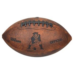 Wilson New England Patriots 9-Inch Throwback Football