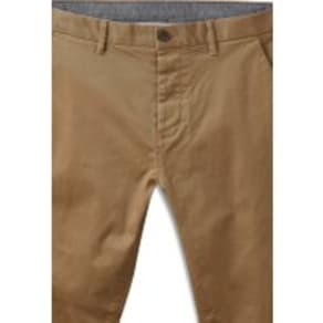 Mens Next Oatmeal Super Skinny Fit Stretch Chinos -  Natural